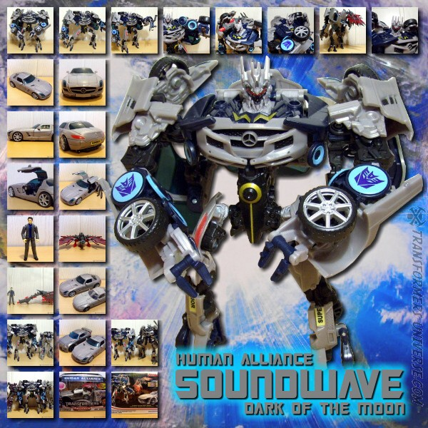 DOTM Soundwave Human Alliance