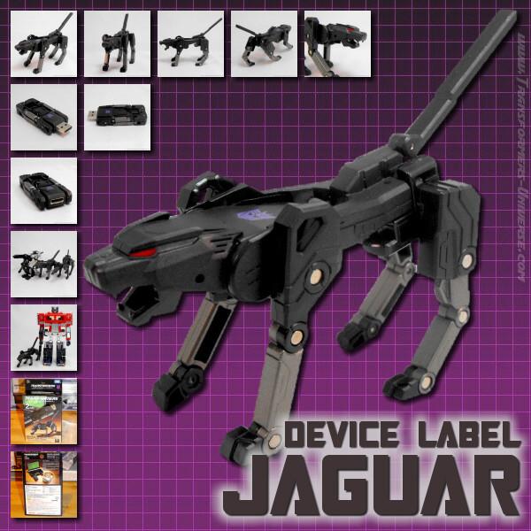 Device Label Jaguar