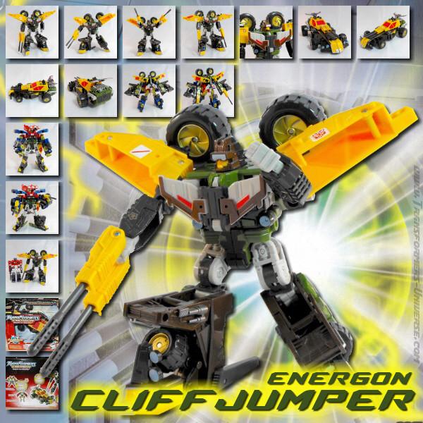 Energon Cliffjumper