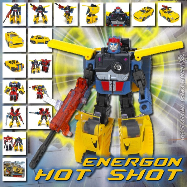 Energon Hot Shot