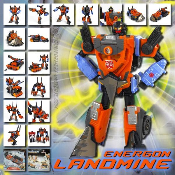 Energon Landmine