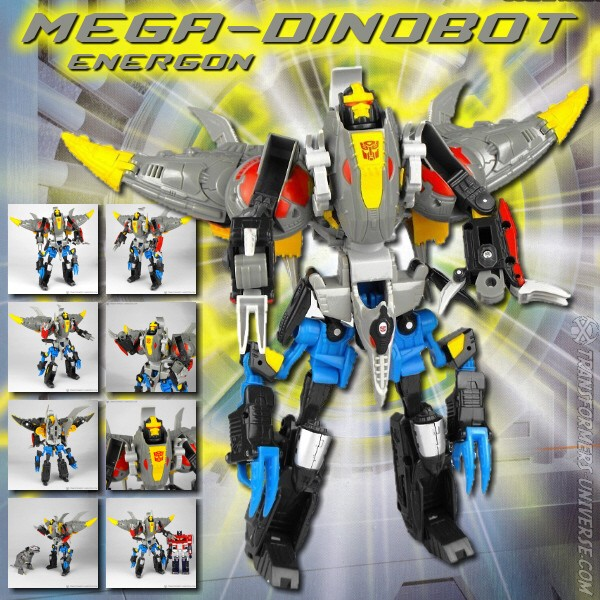 Energon Mega Dinobot