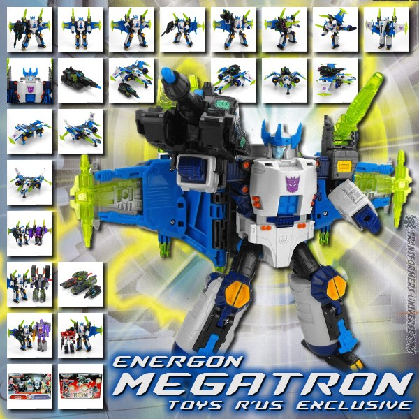 Energon TRU Exclusive Megatron