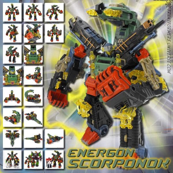 Energon Scorponok
