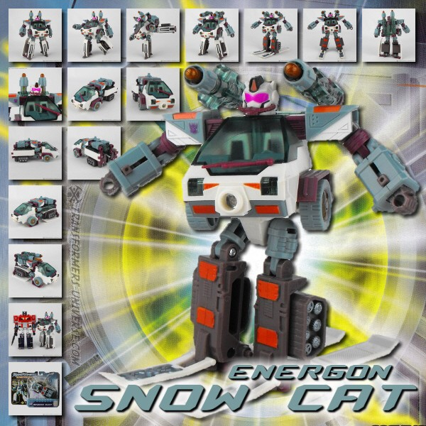 Energon Snow Cat