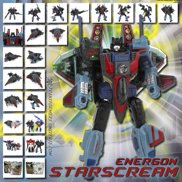 Energon Starscream
