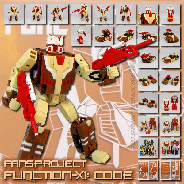 Fansproject Function-X1: Code