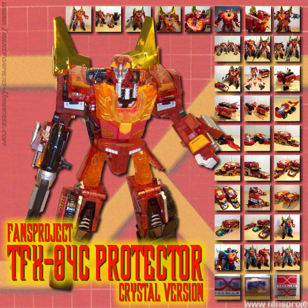 Fansproject Protector Crystal Version