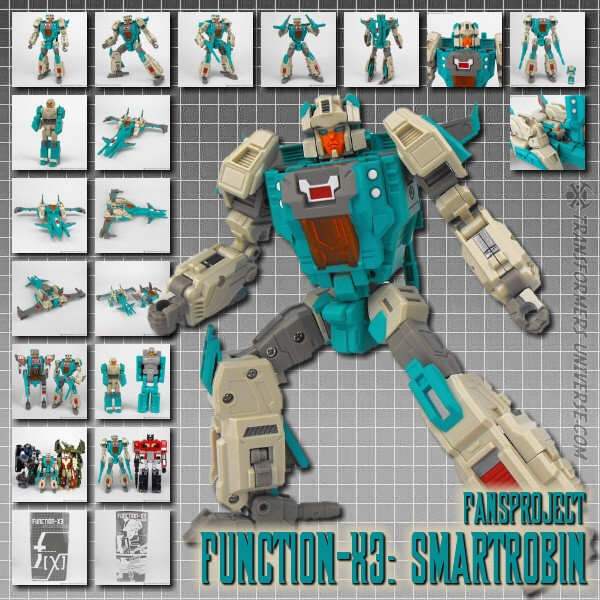 Fansproject Function-X3: Smartrobin