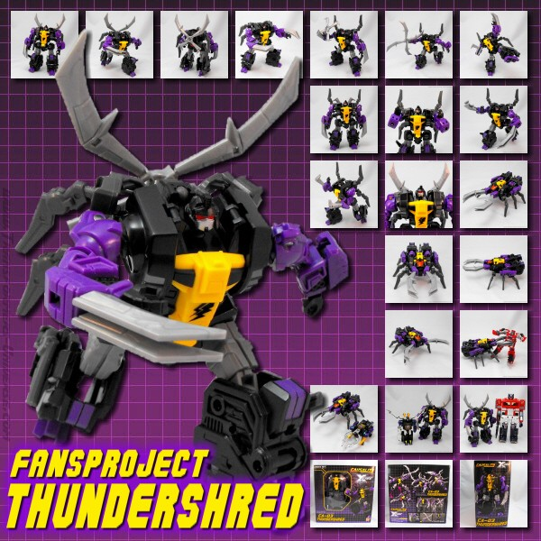 Fansproject Thundershred