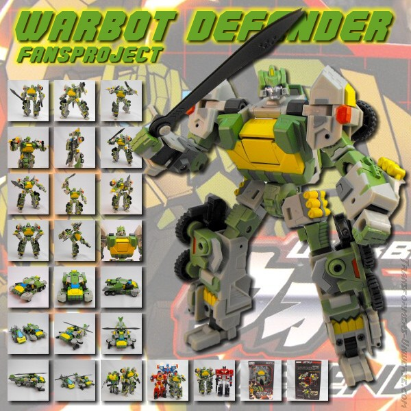 Fansproject Warbot Defender