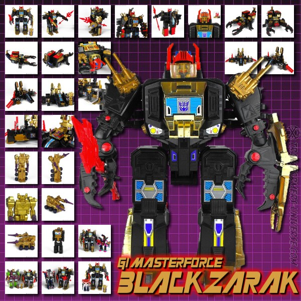G1 Masterforce BlackZarak