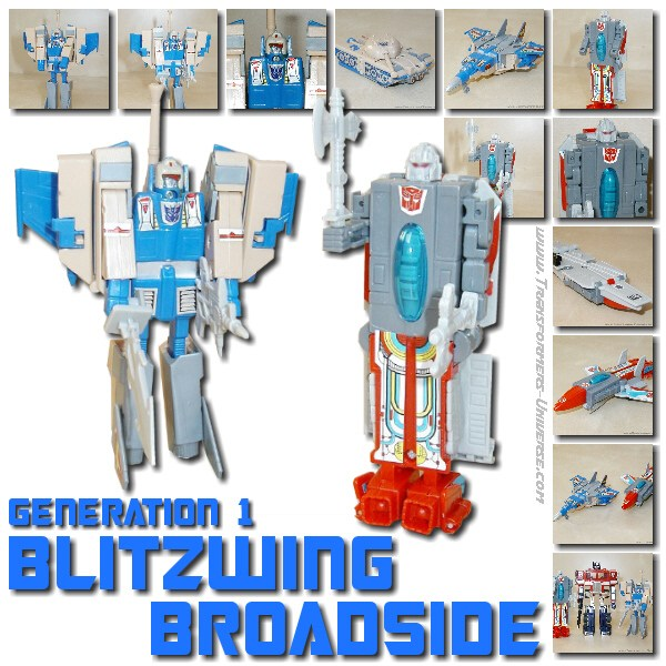 G1 Blitzwing & Broadside