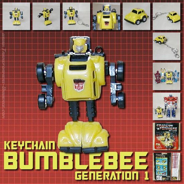 G1 Bumblebee Keychain