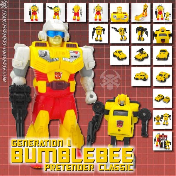 G1 Classic Pretender Bumblebee