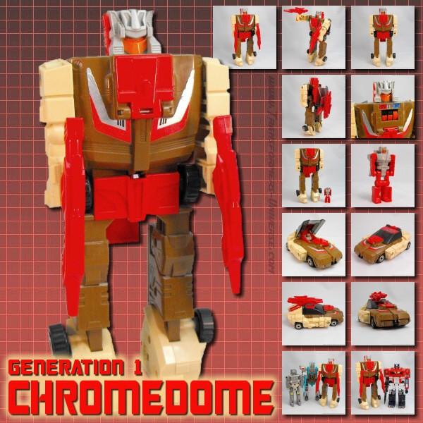 G1 Chromedome & Stylor