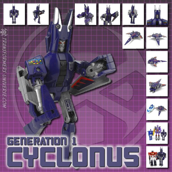 Generation 1  Cyclonus (1986)