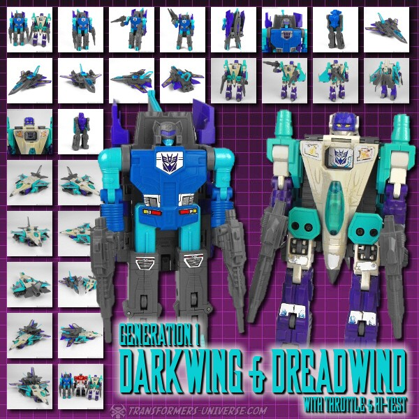 G1 Darkwing & Dreadwind