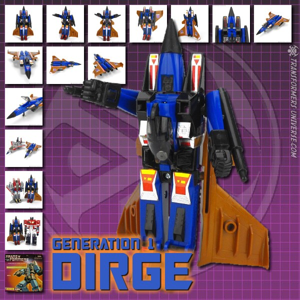G1 Reissues Commemorative Series Dirge (2004)
