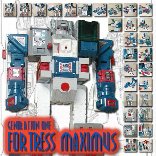 Generation 1  Fortress Maximus (1987)