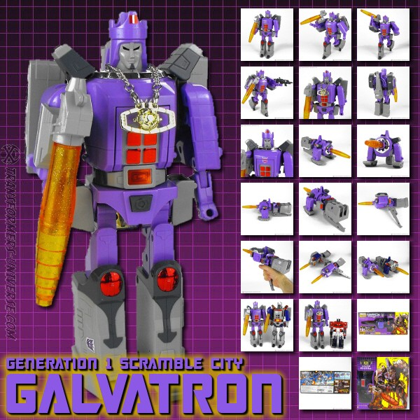 G1 Galvatron Anime Edition