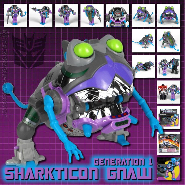 G1 Sharkticon Gnaw