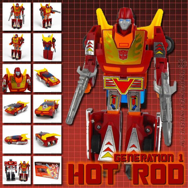 G1 Reissues Commemorative Series Rodimus Major (2002)