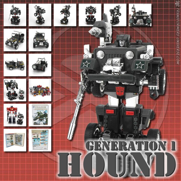 G1 Reissues Transformers Collection Hound (2004)