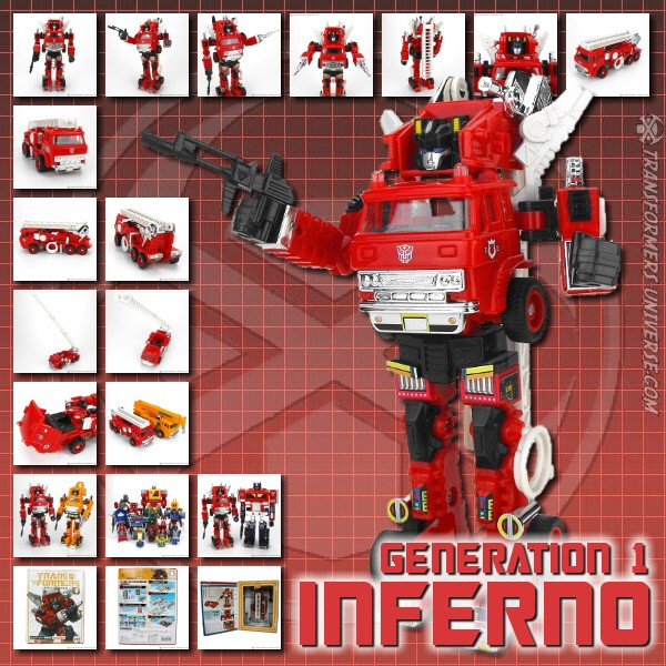 G1 Reissues Transformers Collection Inferno (2003)
