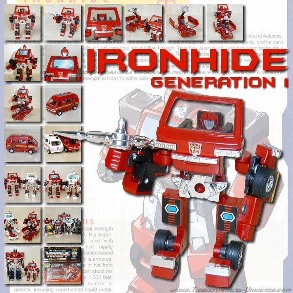 G1 Reissues Encore Ironhide (2008)