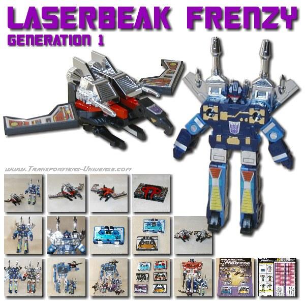 G1 Laserbeak & Frenzy