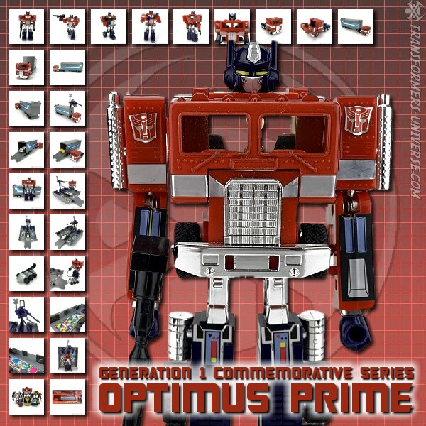 G1 Reissues Commemorative Series Optimus Prime (2002)