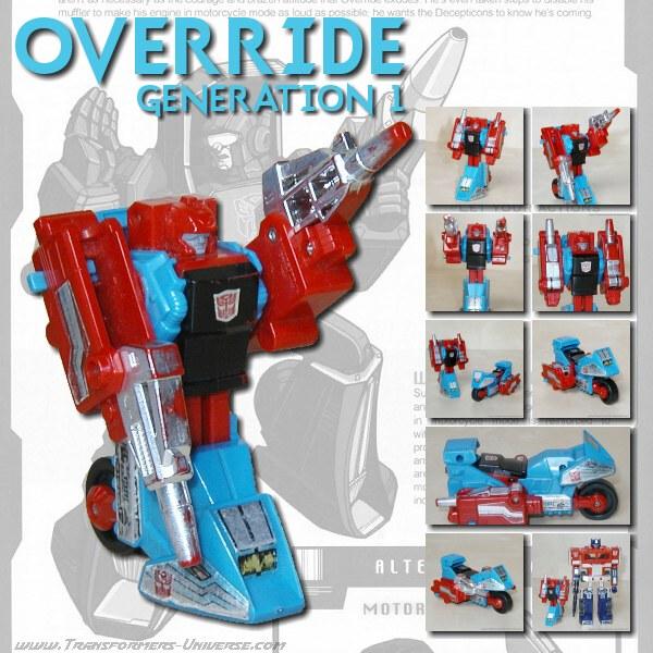 G1 Override