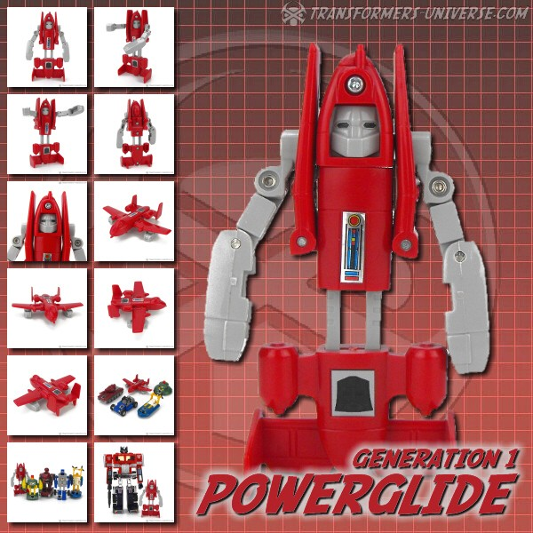 Generation 1  Powerglide (1985)