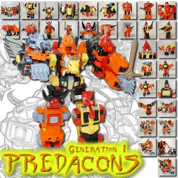 G1 Predacons