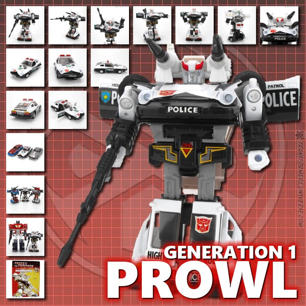 G1 Reissues Commemorative Series Prowl (2003)