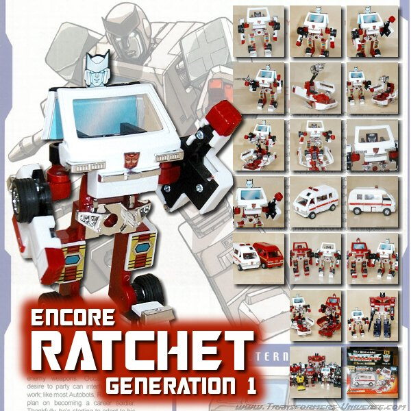 G1 Reissues Encore Ratchet (2008)