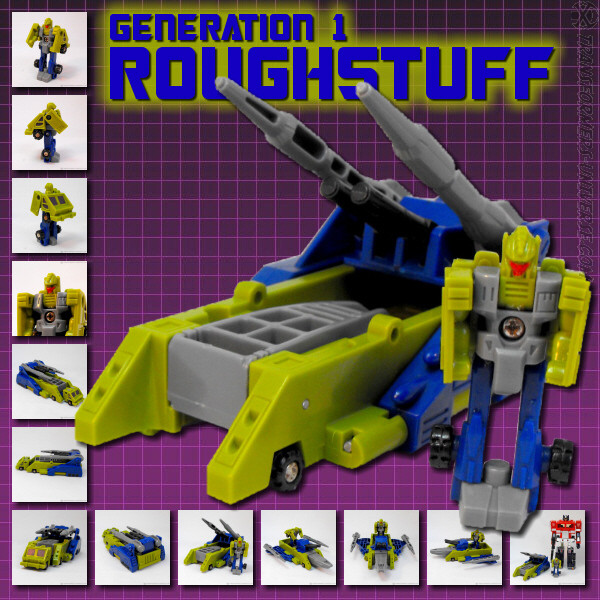 Transformers Micromasters Roughstuff Missile Weapon