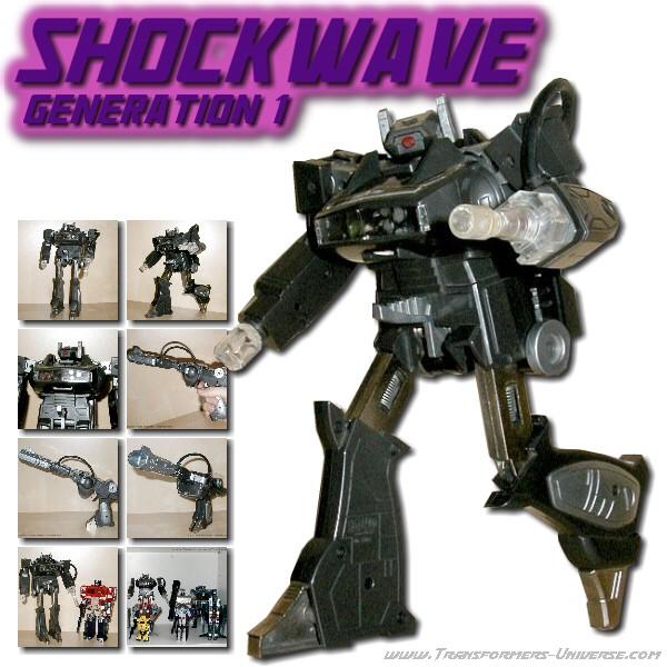 G1 Shockwave Shaqwave
