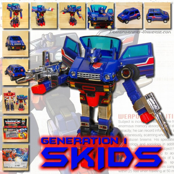 G1 Reissues Encore Skids (2009)