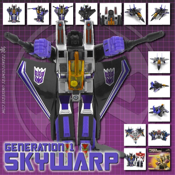 G1 Reissues Commemorative Series Skywarp (2003)