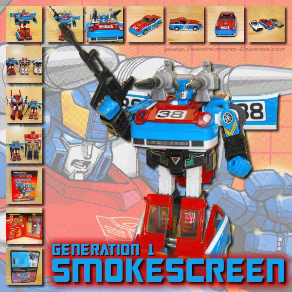 G1 Reissues Commemorative Series Smokescreen (2003)