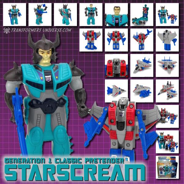 G1 Classic Pretender Starscream
