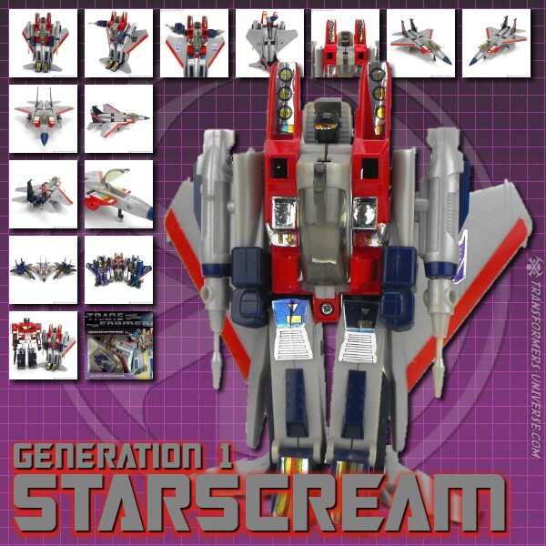 Generation 1  Starscream (1984)