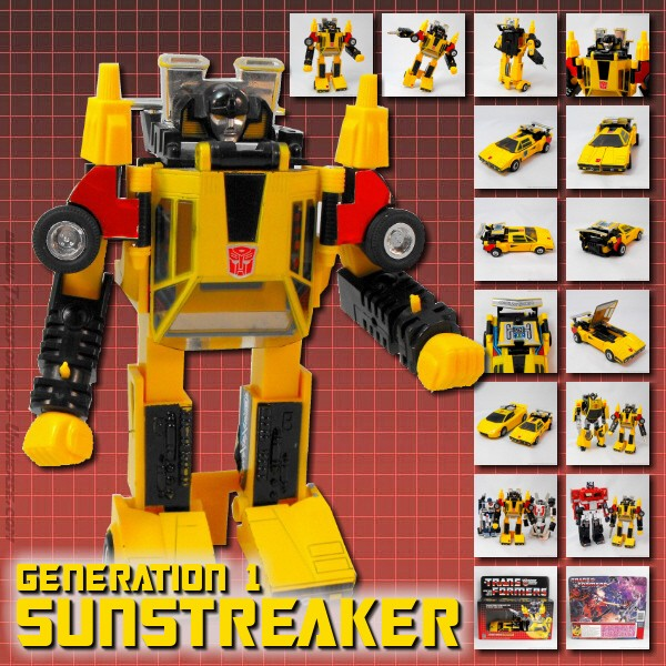 Generation 1  Sunstreaker (1984)