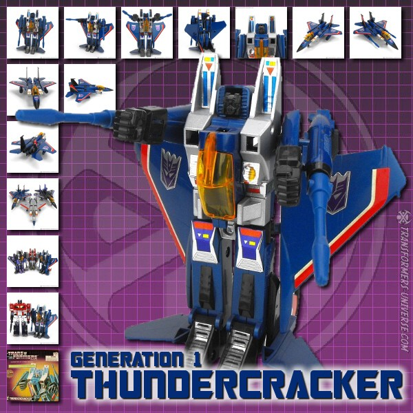 G1 Reissues Commemorative Series Thundercracker (2003)