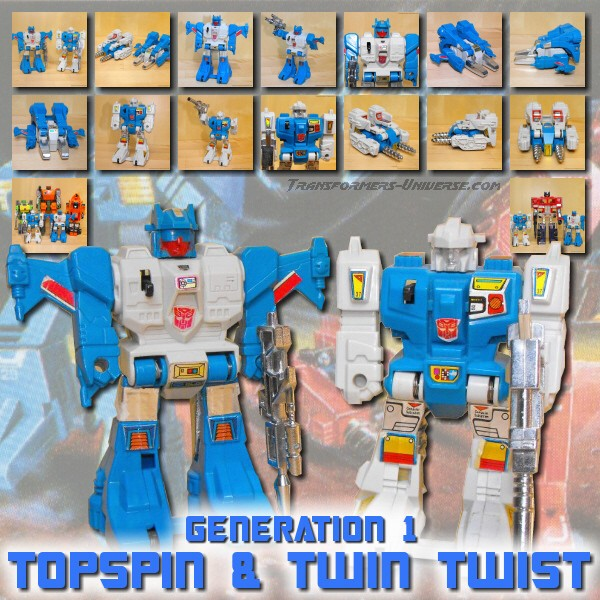G1 Topspin & Twin Twist
