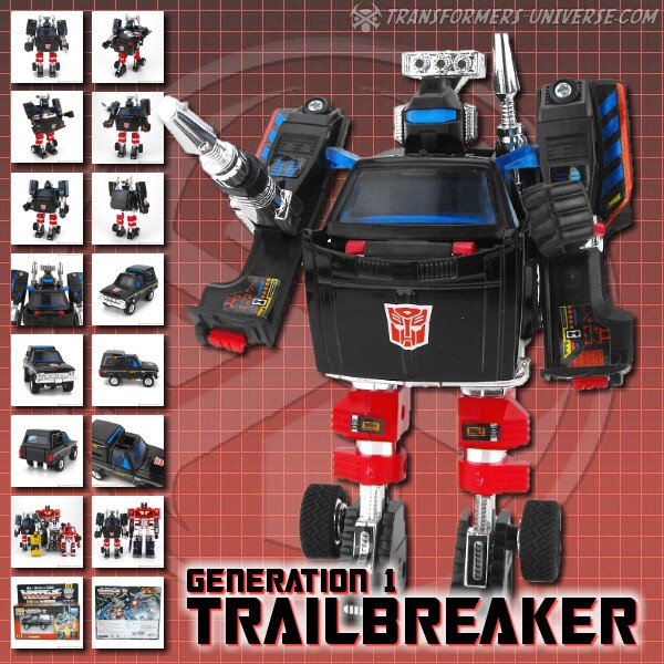 G1 Reissues Encore Trailbreaker (2008)