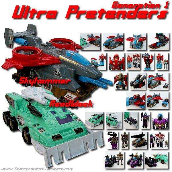 G1 Ultra Pretenders