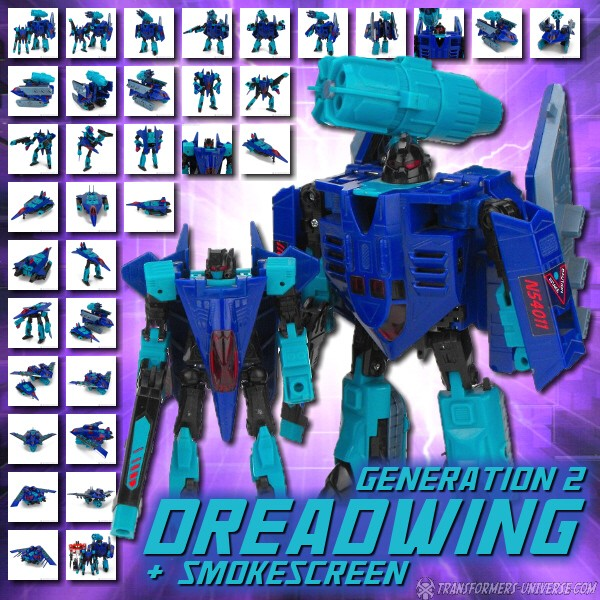 G2 Dreadwing & Smokescreen